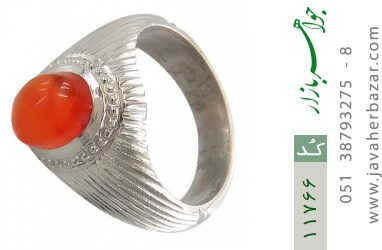 انگشتر عقیق یمن هنر دست استاد بامری - کد 11766