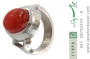 انگشتر عقیق یمن رکاب دست ساز - کد 11768