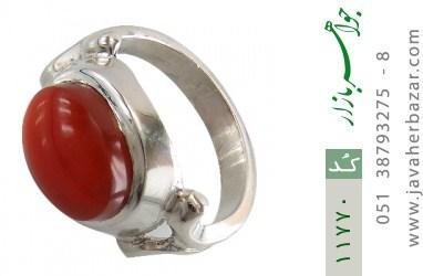 انگشتر عقیق یمن رکاب دست ساز - کد 11770