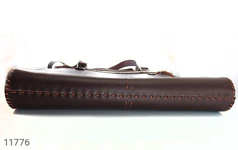 کیف چرم طبیعی دست دور سایز بزرگ زنانه - عکس 5