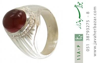 انگشتر عقیق یمن هنر دست استاد یکتا - کد 11806