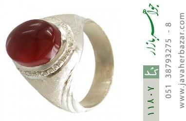 انگشتر عقیق یمن هنر دست استاد یکتا - کد 11807
