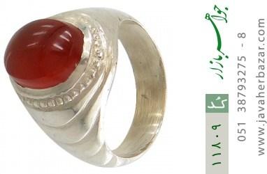انگشتر عقیق یمن هنر دست استاد یکتا - کد 11809