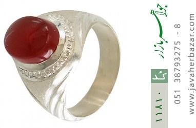 انگشتر عقیق یمن هنر دست استاد یکتا - کد 11810