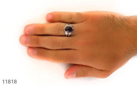 انگشتر آمتیست رکاب دست ساز - عکس 7