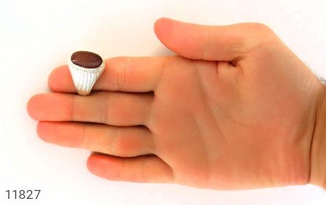 انگشتر عقیق یمن هنر دست استاد یکتا - تصویر 8