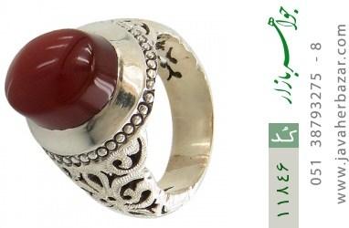 انگشتر عقیق یمن هنر دست استاد عباسیان - کد 11846