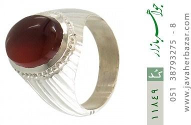 انگشتر عقیق یمن هنر دست استاد یکتا - کد 11849