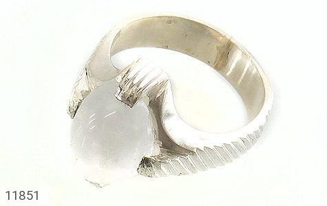 انگشتر دُر نجف رکاب دست ساز - عکس 1