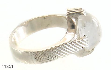 انگشتر دُر نجف رکاب دست ساز - عکس 3
