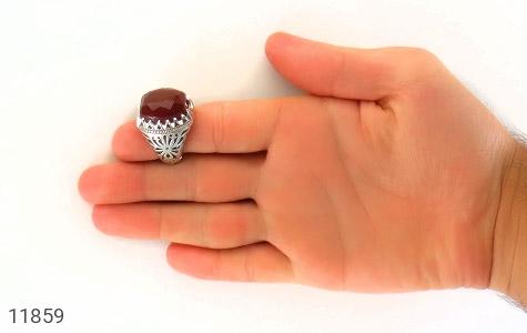 انگشتر عقیق یمن هنر دست استاد اسدی - تصویر 8