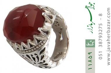 انگشتر عقیق یمن هنر دست استاد اسدی - کد 11859