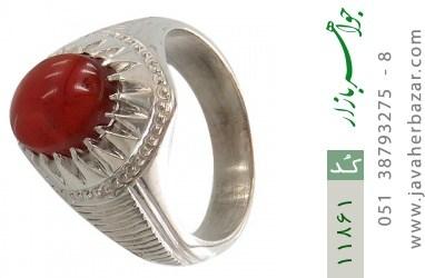 انگشتر عقیق یمن هنر دست استاد بامری - کد 11861