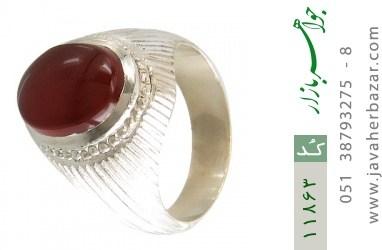 انگشتر عقیق یمن هنر دست استاد یکتا - کد 11863
