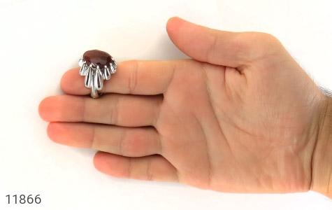 انگشتر عقیق یمن هنر دست استاد زارعی - تصویر 8