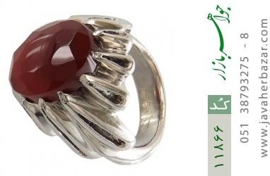 انگشتر عقیق یمن هنر دست استاد زارعی - کد 11866
