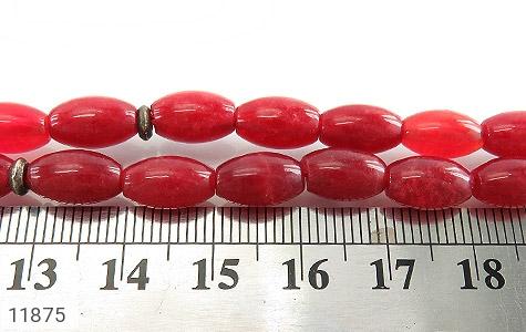 تسبیح جید قرمز 33 دانه متوسط هلی - عکس 5