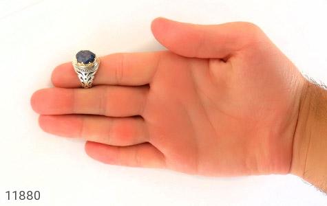 انگشتر یاقوت رکاب دست ساز - تصویر 8
