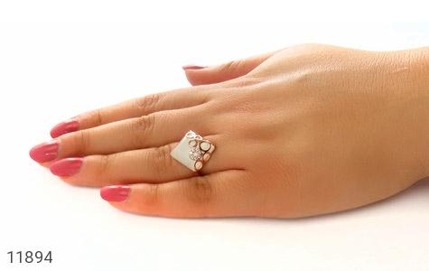 انگشتر چشم گربه طرح باشگوه زنانه - عکس 7