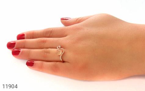 انگشتر چشم گربه طرح نازنین زنانه - عکس 7