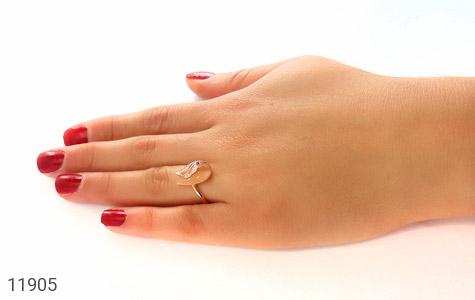 انگشتر چشم گربه طرح مهرناز زنانه - عکس 7