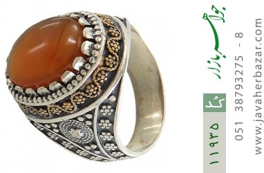 انگشتر عقیق یمن - کد 11935
