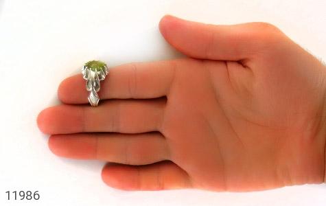 انگشتر زبرجد هنر دست استاد شرفیان - عکس 9