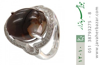 انگشتر عقیق یمن - کد 12010