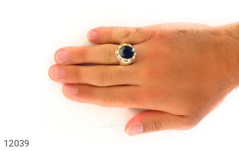 انگشتر یاقوت رکاب دست ساز - عکس 7