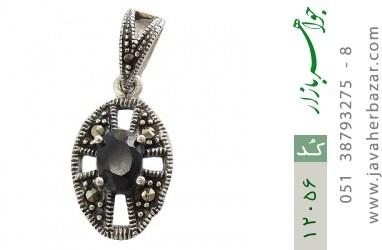 مدال مارکازیت و یاقوت کبود طرح هیما زنانه - کد 12056