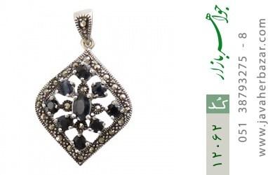 مدال مارکازیت و یاقوت کبود طرح آیلر زنانه - کد 12062