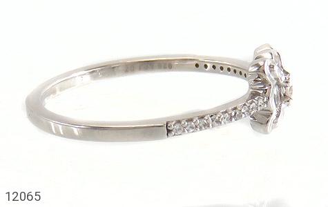 انگشتر نقره طرح ملوس جواهرنشان زنانه - عکس 3