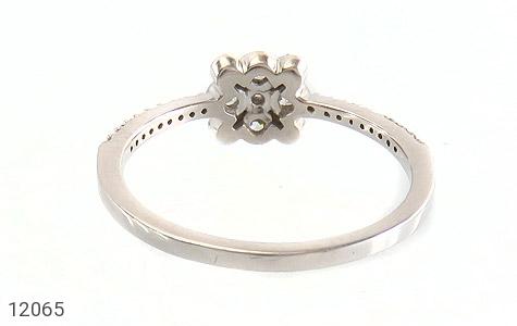 انگشتر نقره طرح ملوس جواهرنشان زنانه - تصویر 4