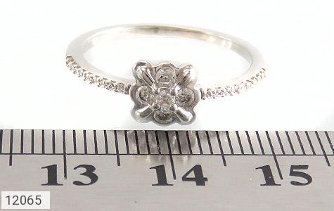 انگشتر نقره طرح ملوس جواهرنشان زنانه - تصویر 6