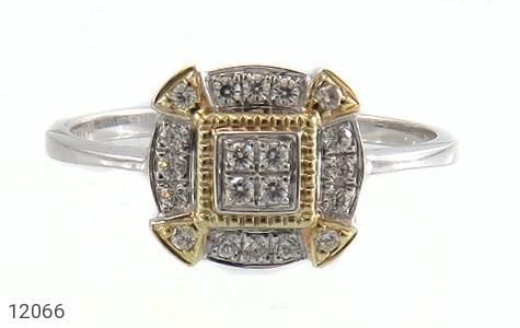 انگشتر نقره جواهرنشان طرح غزل زنانه - تصویر 2
