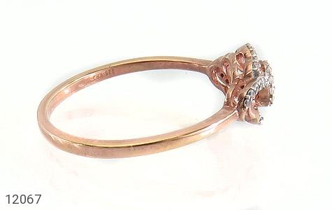 انگشتر نقره جواهرنشان طرح روشا زنانه - عکس 3