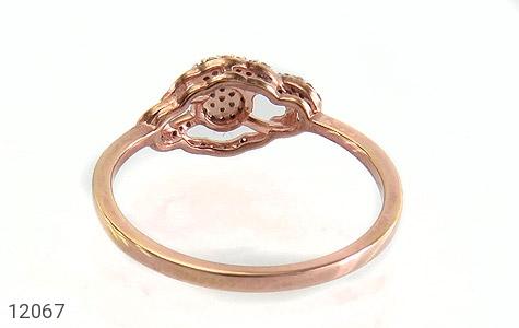 انگشتر نقره جواهرنشان طرح روشا زنانه - تصویر 4