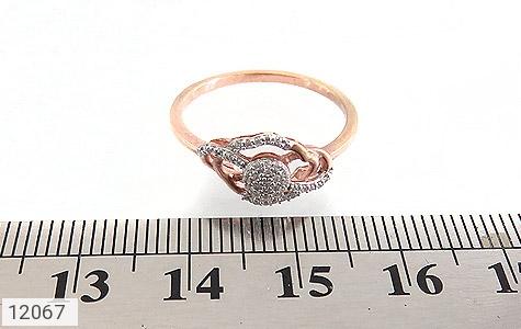 انگشتر نقره جواهرنشان طرح روشا زنانه - تصویر 6