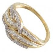 انگشتر نقره رینگ جواهرنشان زنانه