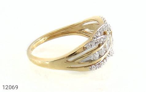 انگشتر نقره رینگ جواهرنشان زنانه - عکس 3
