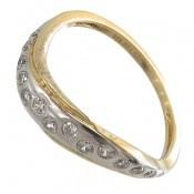 انگشتر نقره جواهرنشان رینگی زنانه