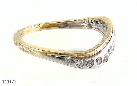 انگشتر نقره جواهرنشان رینگی زنانه - عکس 3