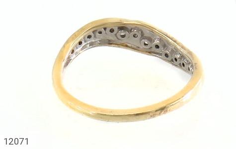 انگشتر نقره جواهرنشان رینگی زنانه - تصویر 4