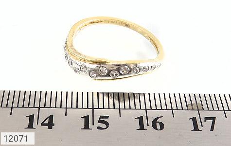 انگشتر نقره جواهرنشان رینگی زنانه - تصویر 6