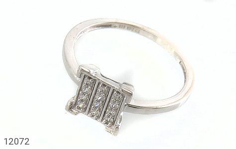 انگشتر نقره جواهرنشان طرح گیتی زنانه - عکس 1