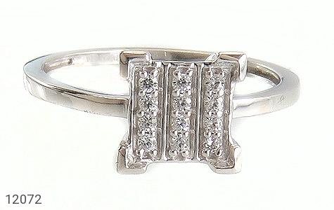 انگشتر نقره جواهرنشان طرح گیتی زنانه - تصویر 2