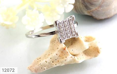 انگشتر نقره جواهرنشان طرح گیتی زنانه - عکس 5