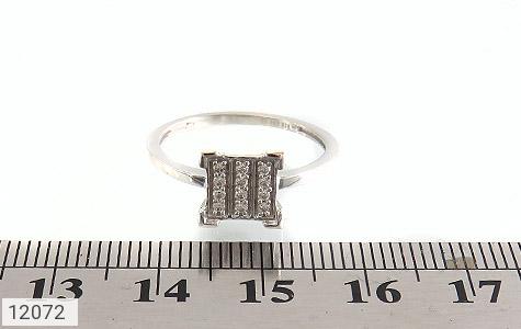 انگشتر نقره جواهرنشان طرح گیتی زنانه - تصویر 6