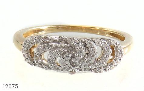 انگشتر نقره رینگی جواهرنشان زنانه - تصویر 2
