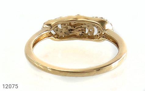 انگشتر نقره رینگی جواهرنشان زنانه - تصویر 4